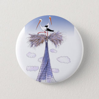 ShardArt Unwelcome Visitors by Tony Fernandes Pinback Button