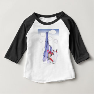 ShardArt Xmas Santa by Tony Fernandes Baby T-Shirt