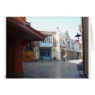 Sharden Street in Tbilisi Card