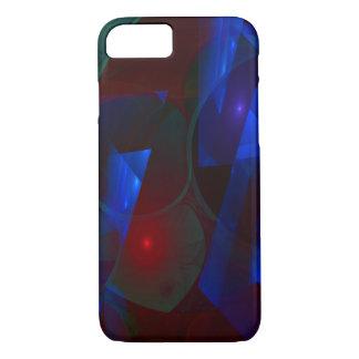 Shards 3D Flame Fractal iPhone 7 Case