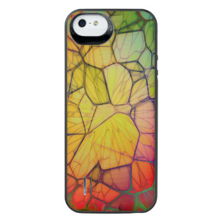 Shards Of Color iPhone SE/5/5s Battery Case