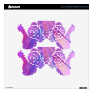 Shards of Colour Fractal Skins For PS3 Controllers