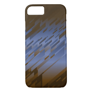 Shards of Glass Abstract Diagonal Stripe iPhone 7 Case