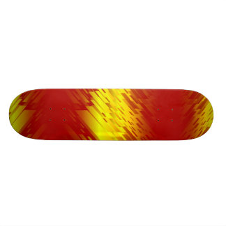 Shards of Glass Abstract Diagonal Stripe Skateboards