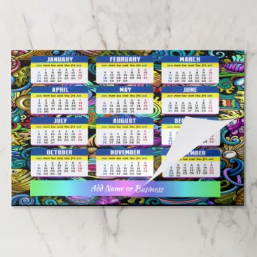 Professional Business Share a 2018 Nautical Calendar Tearaway Pad