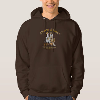 Share A Beer With Your Best Friend Jack Russell Hoodie