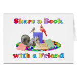 Share a Book Greeting Card