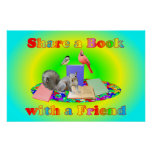 Share a Book Poster