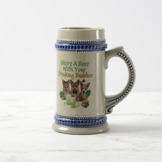 Share A Drink With Your Buddies Beer Stein