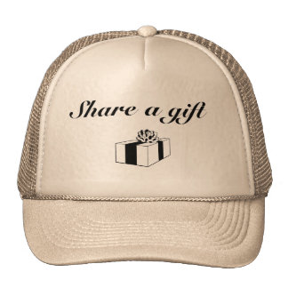 Share a gift trucker hat