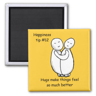 share a hug 2 inch square magnet