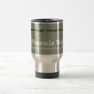 Share a thought. Change the world! Travel Mug