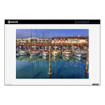 """Share A View of San Francisco Fisherman's Wharf 13"""" Laptop Skin"""