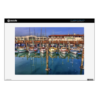 Share A View of San Francisco Fisherman's Wharf Decals For Laptops