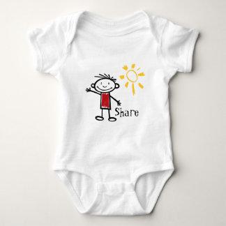 Share Baby Bodysuit