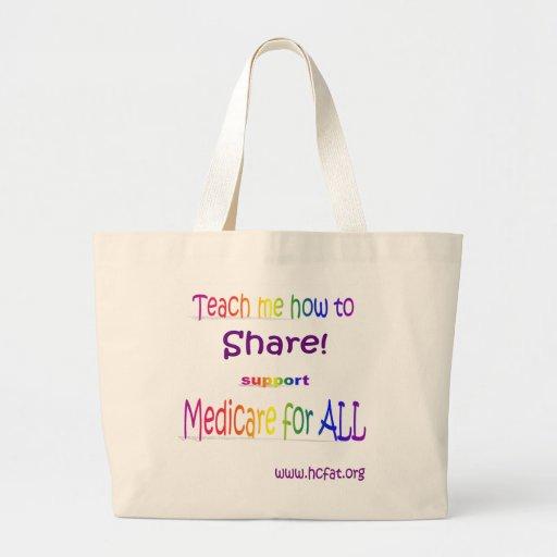 Share Baby tote Jumbo Tote Bag