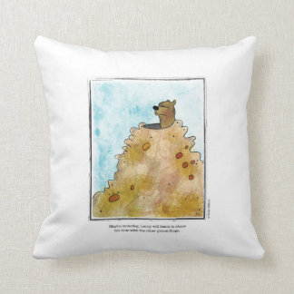 SHARE cartoon by Ellen Elliott Throw Pillow