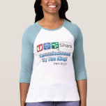 Share: Commissioned by the King!  Ladies Raglan T-shirts