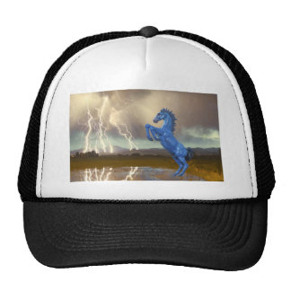 Share Favorite DIA Mustang Bronco Lightning Stor Trucker Hat