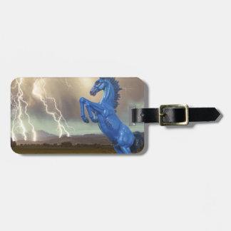 Share Favorite DIA Mustang Bronco Lightning Stor Bag Tag