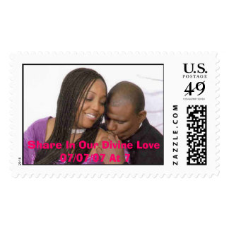 Share In Our Divine Love 07/07/07 At 7 Postage
