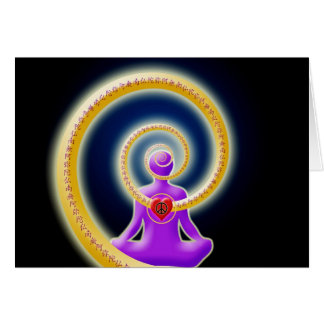 Share Inner Peace of Nembutsu Greeting Card
