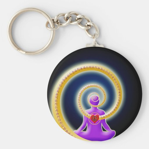 Share Inner Peace of Nembutsu Key Chains