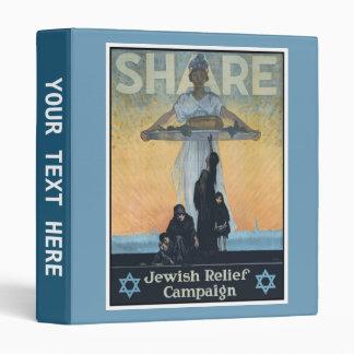 Share Jewish Relief World War I Vinyl Binders