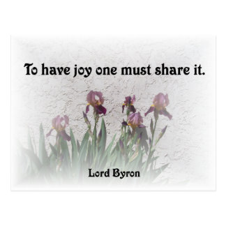 Share Joy Postcard