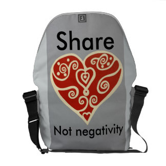 share Love 2 Courier Bag
