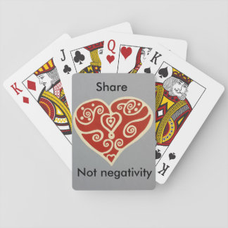 share Love 2 Playing Cards