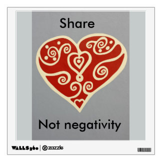 share Love 2 Wall Sticker