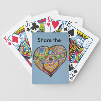 Share Love Bicycle Playing Cards