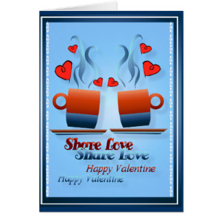 Share Love -Cards Greeting Card
