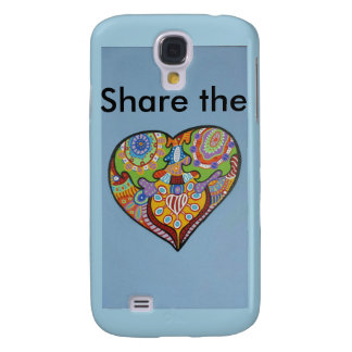 Share Love Galaxy S4 Cover