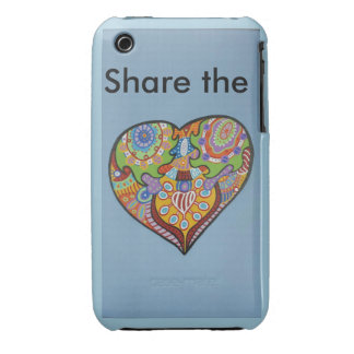 Share Love iPhone 3 Cover