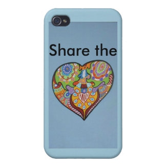 Share Love iPhone 4/4S Covers