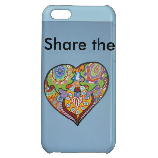 Share Love iPhone 5C Covers