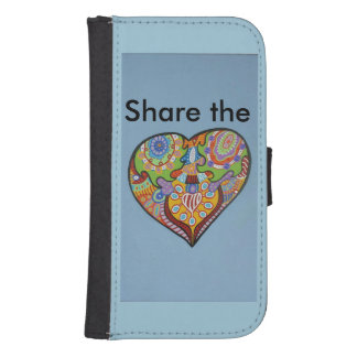 Share Love Phone Wallet