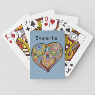 Share Love Playing Cards