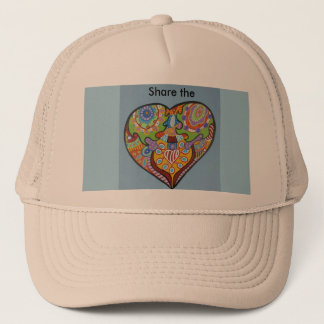 Share Love Trucker Hat