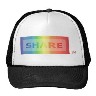 SHARE Multicolor Trucker Hat