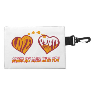 Share my love with you accessory bags