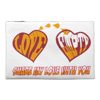 Share my love with you travel accessories bags