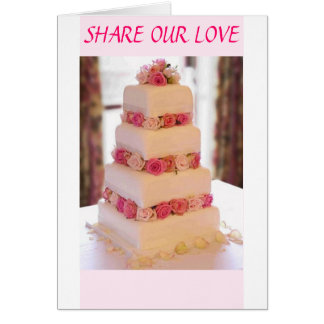 Share Our Love-Invitation Card