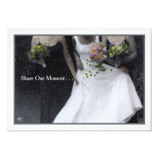 Share Our Moment - Wedding Invitation