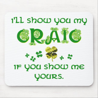 Share the Craic Mouse Pad