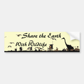 Share the Earth Bumpersticker Bumper Sticker