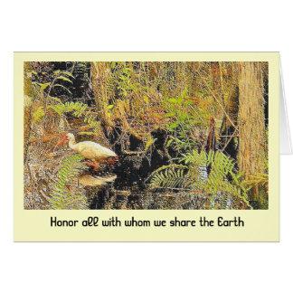 share the earth card