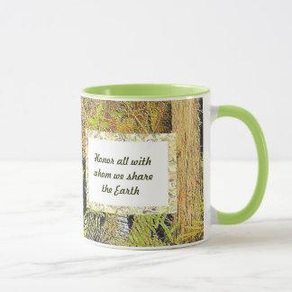 share the earth mug